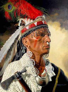 Shawnee - David Wright. - Le origini preistoriche degli Shawnee sono incerte. Come altre tribù che utilizzavano il linguaggio Algonquian, possono aver avuto origine nell'area intorno al lago Winnipeg (nella provincia di Manitoba in Canada). Ad un certo punto devono essere emigrati nei territori dell'Ohio, nell'area attualmente compresa tra l'ovest della Virginia, il sud dell'Ohio e il nord del Kentucky.