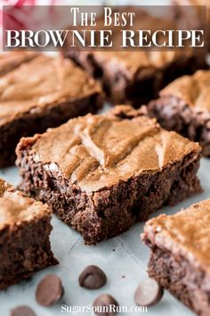 The BEST Homemade Brownie Recipe! Easy chewy chocolatey ONE BOWL Brownies! Youll never go back to box-mixes again! The post The BEST Homemade Brownie Recipe! Easy chewy chocolatey ONE BOWL Brownies! You appeared first on Dessert Park. Milk Chocolate Brownie Recipe, Homemade Milk Chocolate, Fudgy Brownie Recipe, Brownie Cake, Brownie Recipes, Chocolate Recipes, Cookie Recipes, Dessert Recipes, Dinner Recipes