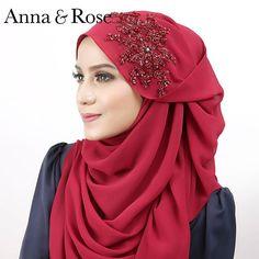 #sofeabeadedshawlini diperbuat daripada material High Quality Grade Chiffon diserikan dengan beaded 3D yang menawan . . #sofeabeadedshawlboleh didapati dengan hanya harga RM79. Koleksi ini didatangkan dengan 20 warna pilihan yang cantik dan menarik . Anda boleh dapatkan koleksi ini di HB Seri Bangi, HB Meru Ipoh (31.01.16 / ahad) dan website www.thetailoringfactory.com.-ANNA Turbans, Moslem Fashion, Hijab Style Tutorial, Turban Hijab, Modern Hijab, Muslim Dress, Turban Style, Islamic Fashion, Scarf Styles