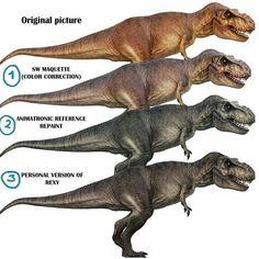 Et Rexy fut… T Rex Jurassic Park, Jurassic Park World, Dinosaur Art, Cute Dinosaur, Dinosaur Life, J Park, Jurassic World Fallen Kingdom, Spinosaurus, Prehistoric Creatures