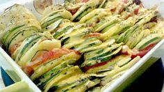 The Grubery: Summer Vegetable Casserole Recipe