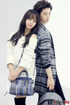 Kim So Hyun and BTOB's Yook Sungjae for 'Hazzy's Accessories'