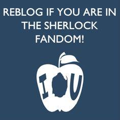 Repin if you're in the Sherlock fandom!