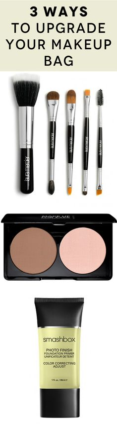 How to upgrade your everyday makeup bag to professional beauty kit.