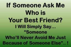 if someone asks me. friendship quotes