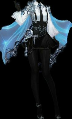 Cosplay Outfits, Anime Outfits, Mode Outfits, Fashion Design Drawings, Fashion Sketches, Mode Lolita, Old Fashion Dresses, Drawing Anime Clothes, Clothing Sketches
