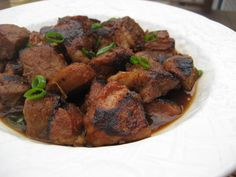 In an earlier entry, I waxed eloquent about chicken adobo . If I had to pick a last dinner, chicken adobo and white rice would be it (no v. Pork Pot Roast, Pot Roast Recipes, Bbq Pork, Pork Ribs, Pork Recipes, Cooker Recipes, Asian Recipes, Barbecue, Asian Foods