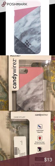 NWT IPhone 7 Candywirez Case Study Snap Case NWT IPhone 7 Candywirez Case Study Snap Case, shock-proof! candywirez Accessories Phone Cases