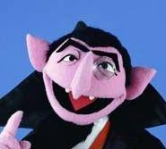 El conde Draco...de Barrio Sesamo, el mejor profesor de aritmética posible