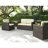 Found it at Wayfair - Palm Harbor 3 Piece Deep Seating Group with Cushions <1000