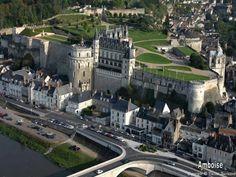 ✈️ La France vue du ciel - Le château d'Amboise, Indre-et-Loire