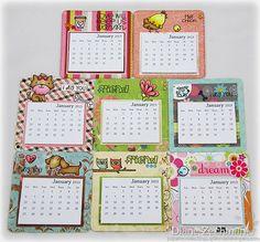 mini magnetic calendars |