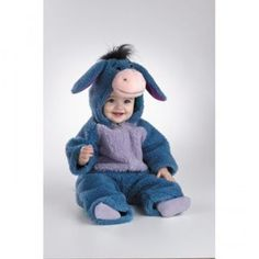 Disney Baby Eeyore Plush Bodysuit Infant / Toddler Costume A classic Winnie the Pooh character for your little one. Transform your little cutie into the lovable Eeyore this Halloween! Cute Baby Costumes, Toddler Costumes, Halloween Costumes For Kids, Halloween Halloween, Halloween Recipe, Women Halloween, Infant Halloween, Halloween Projects, Halloween Makeup