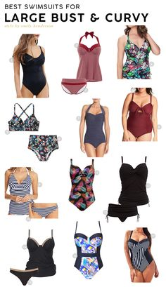 103c785a7200d Best Swimsuits for Your Body Type: Large Busts and Curvy Women #swimwear # swimsuit