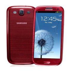 """Smartphone Samsung Galaxy S3 GT-I9300 Desbloqueado / Android 4.0 / Cam 8MP / Tela 4.8"""" - Vermelho - MultiStock"""