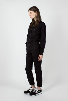 FWK Engineered Garments Black Outback Canvas Fatigue Pant  ✨