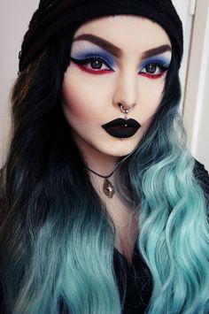 rose shock. makeup junkie from helsinki