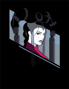 Queen Amidala as a Patrick Nagel print. The first SW movie meets an art icon., via Art Archive Amidala Star Wars, Star Wars Padme, Star Wars Clone Wars, Star Wars Art, Patrick Nagel, Reina Amidala, Queen Amidala, Saga, Nagel Art