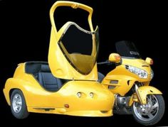 The coolest ride ever! Honda Gold Wing and Hannigan Sidecar
