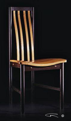 """Mystic Chair"" fine furniture, contemporary craft & design by Australian studio artist Peter Kovacsy 2005 ©"