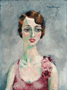Kees van Dongen: Portrait de femme , 1935