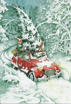 Inge Look Postcard 25