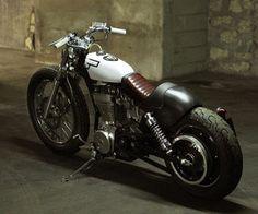 Suzuki Savage LS650 Bobber By HUSZ