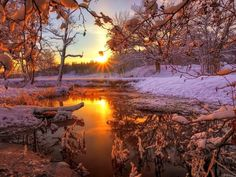 Photography Landscape Nature Scenery Ideas For 2020 Winter Sunset, Winter Scenery, Winter Light, Summer Sunset, Winter Snow, Nature Pictures, Cool Pictures, Beautiful Pictures, Amazing Photos