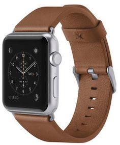 Belkin Classic Leather Watch band 42 mm Tan