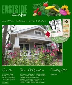 Eastside Cafe - 2113 Manor Rd, Austin, Texas