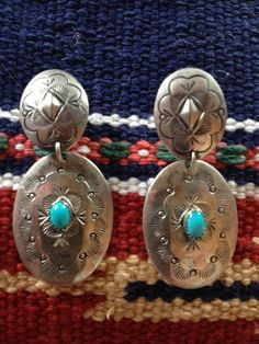 Handmade Signed Vintage Native American Sterling Silver by Tessey2, $60.00