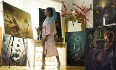 Meet Miryam Lumpini, The Tattoo Artist behind @JhenéAiko's @BigSean Portrait