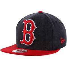 info for e29b2 501f7 Boston Red Sox New Era Logo Grand 9FIFTY Adjustable Hat - Navy