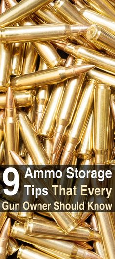 9 Ammo Storage Tips Every Gun Owner Should Know