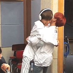 I love vmin :3 like honestly they have the most perfect friendship. I need more friendships like they have in my life