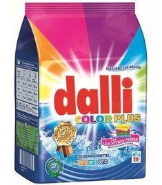 DALLI 1,04kg Color Plus Niemiecki Proszek do prania tkanin kolorowych (16 prań)