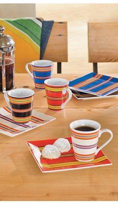 Serape Dinnerware & Dinnerware Carynthum Square | Kitchen Dinnerware | Pinterest ...