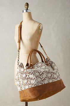 Waiola Lace Weekender Bag - anthropologie.com
