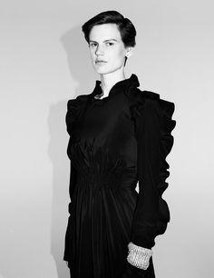 Saskia de Brauw & Clara Deshayes for Interview Magazine September 2016 | The Fashionography