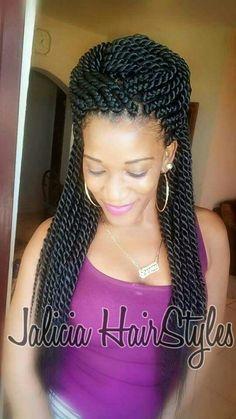 Twist Braids Hairstyles 35 Beautiful Kinky Twists Styles  Pinterest  Kinky Twist Styles