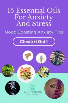 Discover the essential oils for anxiety and stress that are perfect individually or combined. Discover the mood boosting anxiety tips for using oils! via @HealthyNatured Chamomile Essential Oil, Essential Oils For Anxiety, Best Essential Oils, Oils For Relaxation, Building Self Esteem, Cinnamon Oil, Anxiety Tips, Alternative Therapies
