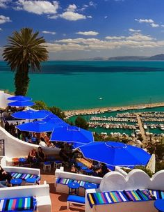 Sidi Bou Said,Tunisia: - PixoHub   - Explore the World with Travel Nerd Nici, one Country at a Time. http://TravelNerdNici.com