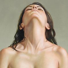 Hyper-Realistic Paintings of the Female Form