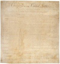 Bill of Rights, the first ten amendments to the United States Constitution. Included among the Bill of Rights are freedom of religion, freedom of the press, and protections against unlawful searches and seizures. Constitution Day, United States Constitution, Us History, American History, History Class, American Pride, Us Bill Of Rights, Text To Text, Freedom Of Religion
