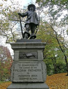 Central Park - New York City, New York - The Pilgrim Statue