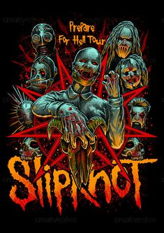 Slipknot+Merchandise+Graphic+by+mist_des+on+CreativeAllies.com