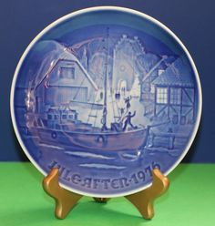 Bing & Grondahl Christmas Welcome 1976 B&G plate #babescollectibles