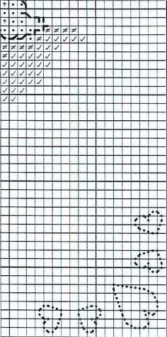 Schema punto croce Bagnetto 4