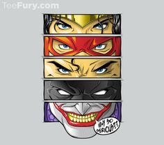 Eyes of Justice T-Shirt $11 DC Comics tee at TeeFury today only!