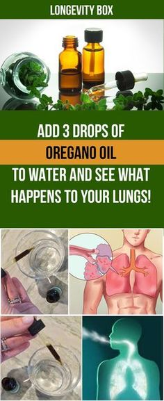 Oregano is great for your lungs.
